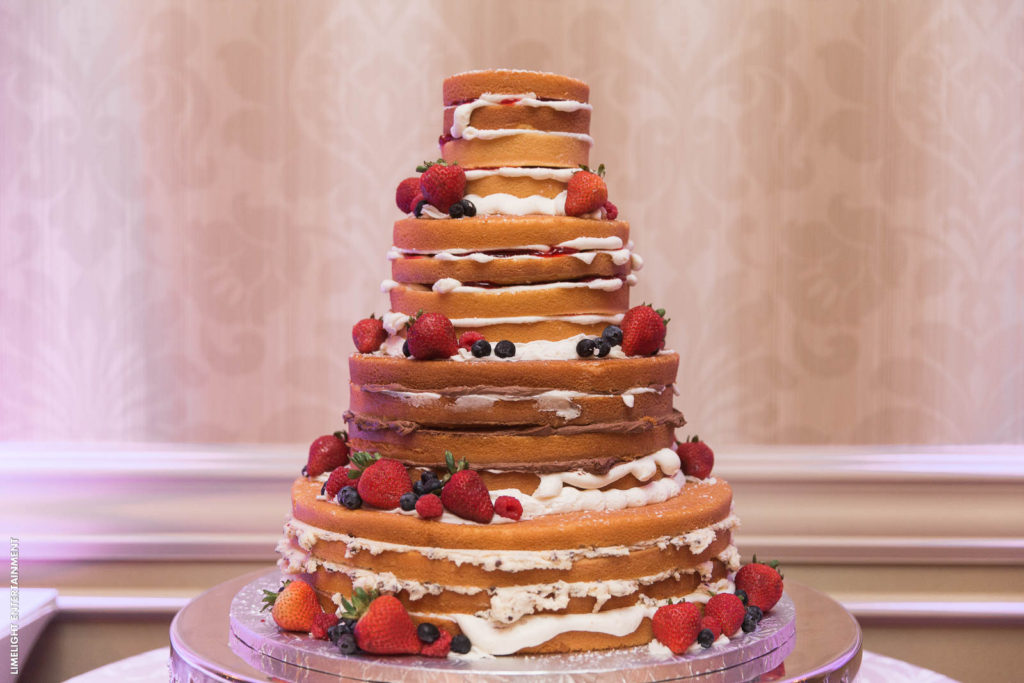 Wedding packages include wedding cakes at the Sterling Ballroom, Tinton Falls, NJ