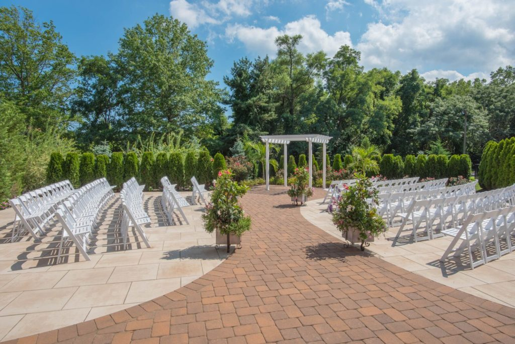 Sterling Ballroom Outdoor NJ Wedding