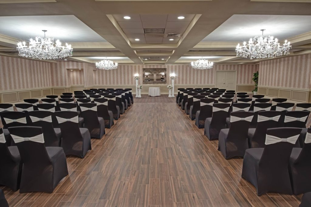 Sterling Ballroom NJ Wedding Indoor Ceremony